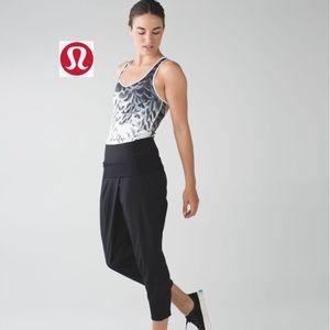 Lululemon Dance To Yoga Pant Black Size 8